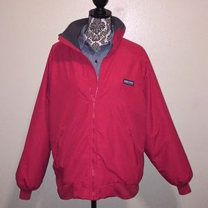 Lands End Men's Classic Squall Jacket Red Sz - L